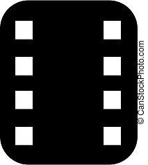 logo, ekranizować pas