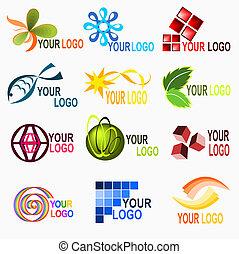 logo, elementy, 1