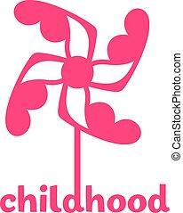 logo, enfance