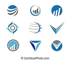 logo, finanz, geschaeftswelt