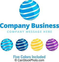 logo, firma, global, symbol, geschaeftswelt