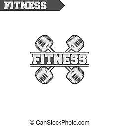 logo, fitness