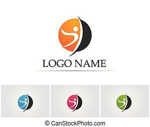 logo, folk, sundhed omsorg