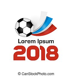 logo, football, 2018, championnat