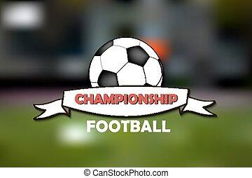 logo, football, championnat