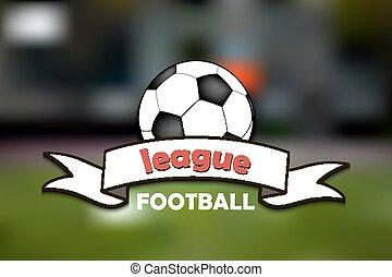 logo, football, ligue