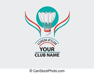 Logo for Badminton Club - Logo for sports club, or badminton...