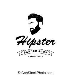Logo for barber shop.