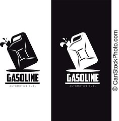 logo for gasoline canisters