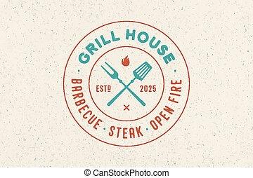 Logo for Grill House restaurant
