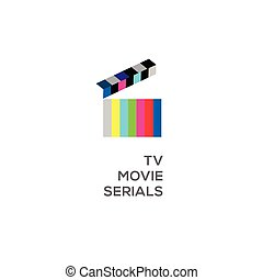 Logo for online TV, movie, serials
