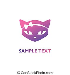 Logo for pet shop or animal clinic