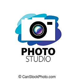 logo for photo studio. Vector illustration of icon