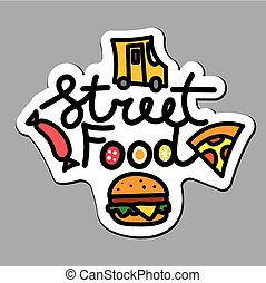 logo for street food