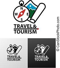 logo for tourism
