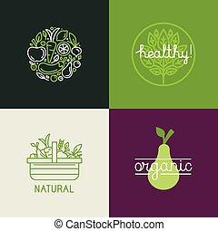 logo, fr, vecteur, conception, gabarit