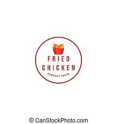 logo Fried chicken restaurant
