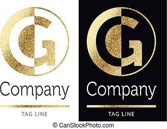 logo-g-2.eps - g golden letter logo