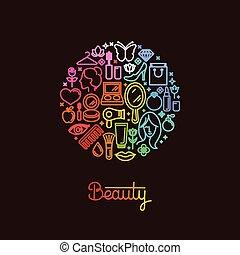 logo, gabarit, conception