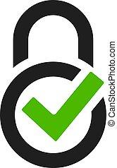 logo, garanti, vektor, beskyttelse