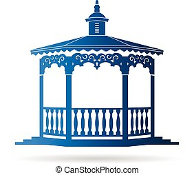 logo, gazebo, wedding