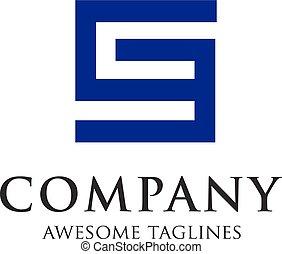logo, ge, lettre