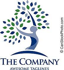 logo, gezondheid, psichology