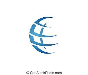 logo, global, gabarit