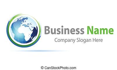 logo, globalny