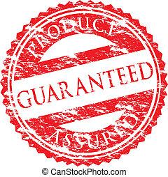 logo, guaranteed
