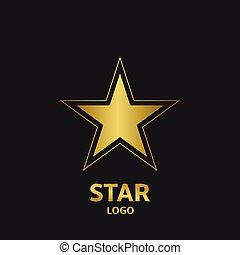 logo, gwiazda