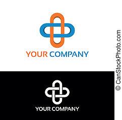 logo, hôpital