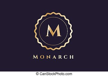 logo, hôtel, royal, gabarit