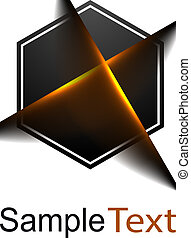 logo, handlowy, 3d