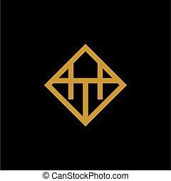 logo, ht/th, initial
