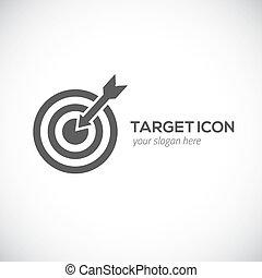 logo, icon., concept., tarcza