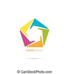 logo, icon.