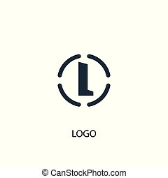 logo icon. Simple element illustration. logo concept symbol design. Can be used for web