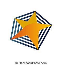 logo, jasna gwiazda