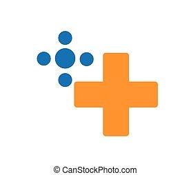 logo, jeu, concept, conception