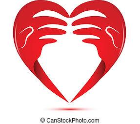 logo, kärlek, räcker