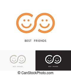logo, kammerater, bedst