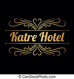 logo, katre, hotel