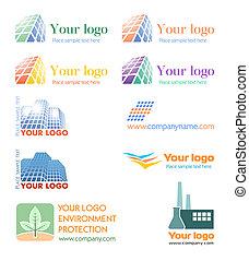 logo, komplet