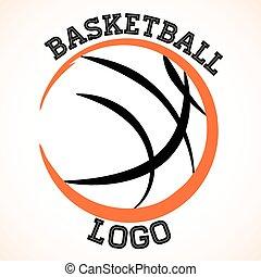 logo, koszykówka
