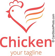 logo, kurczak