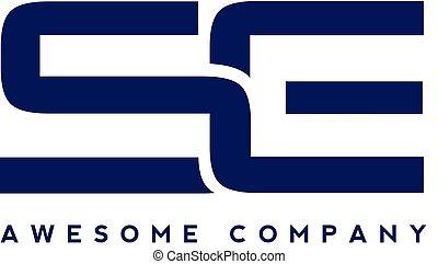 logo, lettre, créatif