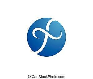logo, lettre f