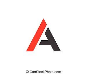 logo, lettre, gabarit