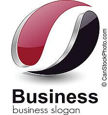 logo  - Logo design for business, vector.